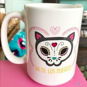Día de los Muertos Cat Mug